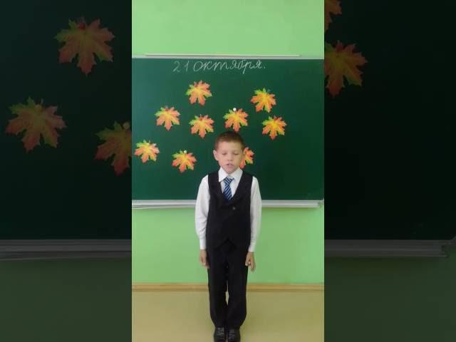 Изображение предпросмотра прочтения – КириллВихрев читает произведение «Сухие листья (Сухие листья, сухие листья...)» В.Я.Брюсова