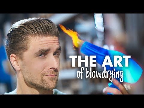 How To Blow-Dry your Hair | 3 Hairstyles | Men Hair