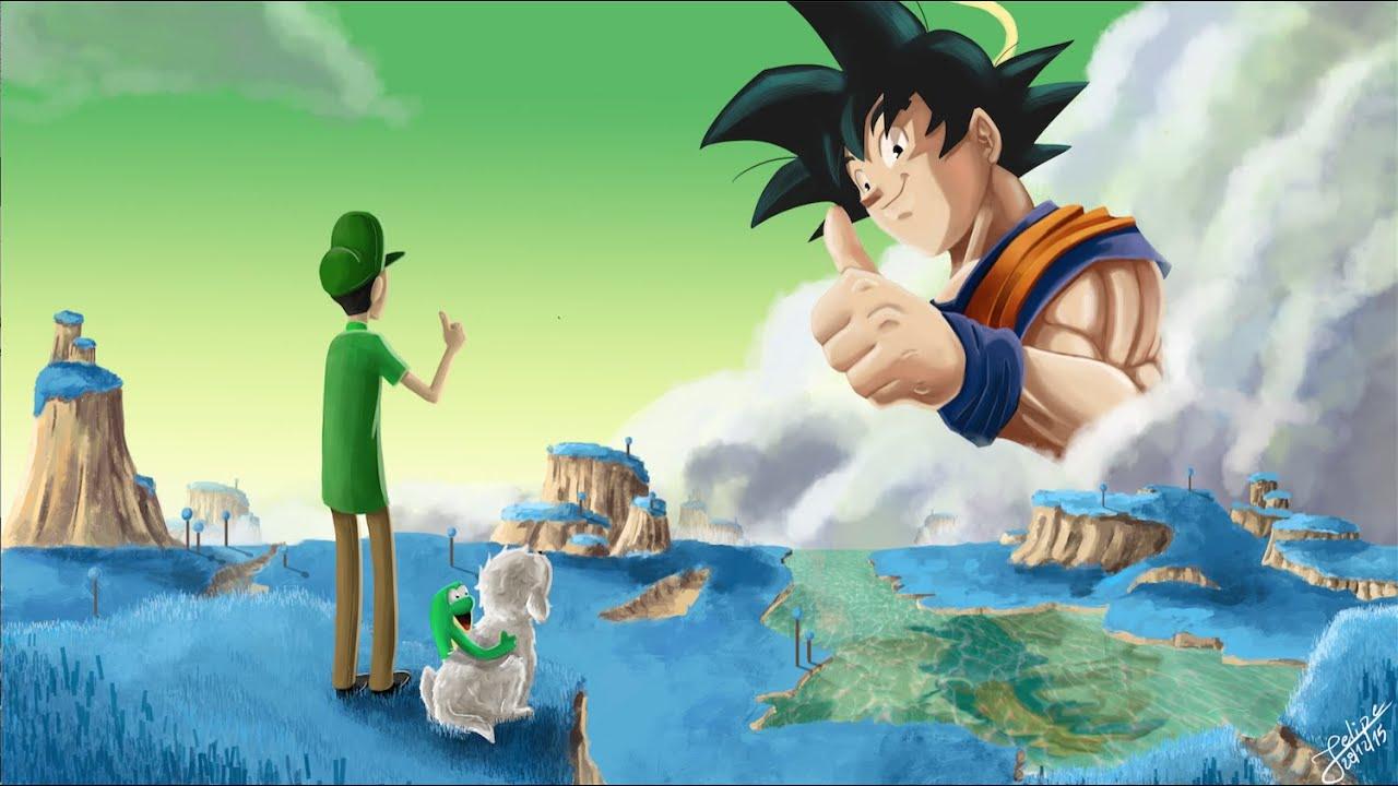 Fernanfloo Y Goku :D