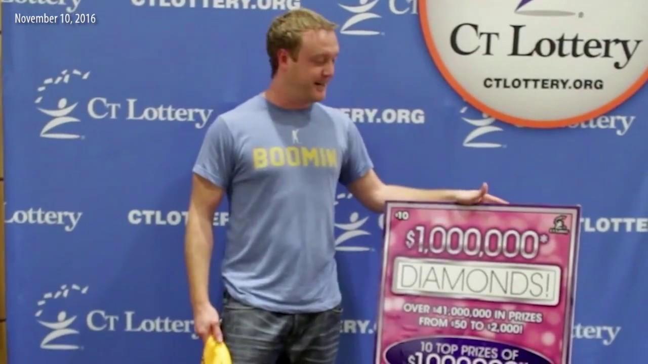 $1,000,000 Diamonds Scratch Game winner!