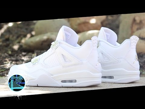 00c3844257f Air Jordan 4 Retro 'Pure Money' | Detailed Look and Review - YouTube