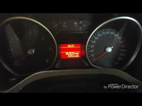 Ford Galaxy diesel oil light reset (service light reset)