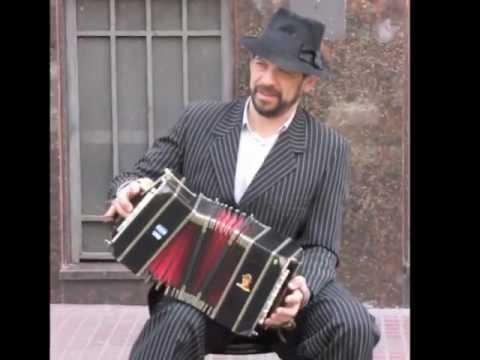 Accordion Player in San Telmo, Buenos Aires.