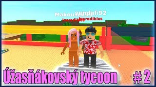 Pokračujeme v Úžasňákovském tycoonu!😱🔥 Roblox Superhero Tycoon w/Vendali