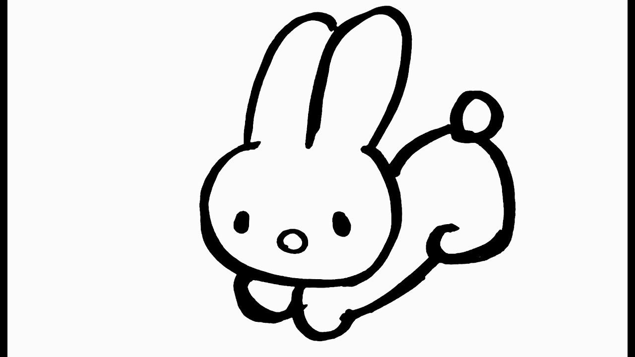 Draw hello kitty bunny 5 - YouTube
