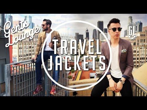 Travel Jackets: 4 Ways to Wear Them (Ft. Combatant Gentlemen) || Gent's Lounge
