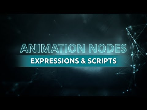 Expressions & Scripts   Blender Animation Nodes (Visual Programming For Artists)