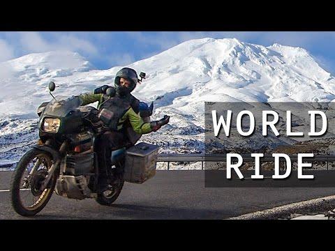 Honda Transalp Motorcycle Adventure Travel Around the World