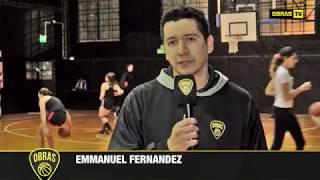 Emmanuel Fernández: Formativas - Obras Basket (24-08-2017)