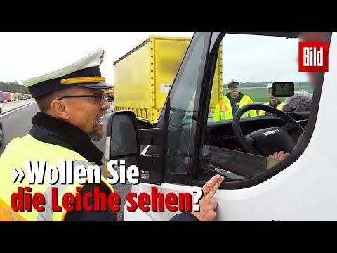 German policman shames photo taking rubberneckers at a fatal crash scene