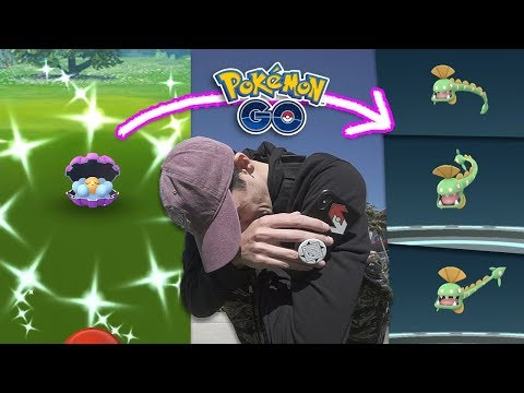 SHINY CLAMPERL EVENT: SUCCESS OR FAILURE? (Pokémon GO Research) thumbnail