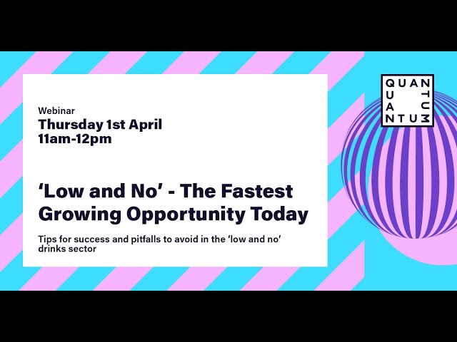 Low & No - The Fastest Growing Opportunity Today