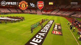Manchester United vs Arsenal ~ UEFA Europa League final 19/20 ~ FIFA 20 Game Play
