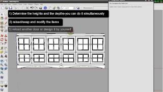 Ddc V1 - Powerfull Design Tool For Sketchup - The Correct Actions Tutorial