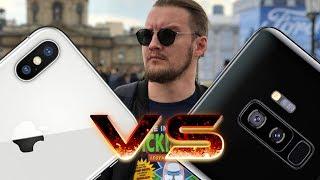 Сравнение камер Galaxy S9+ vs iPhone X - ДОСКОНАЛЬНО!