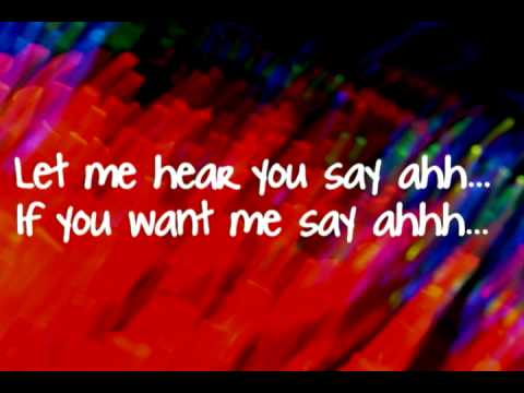 Say Aah-Trey Songz (LYRICS)