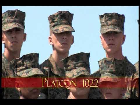 Bravo Company Platoon 1022 (Sept. 2017)