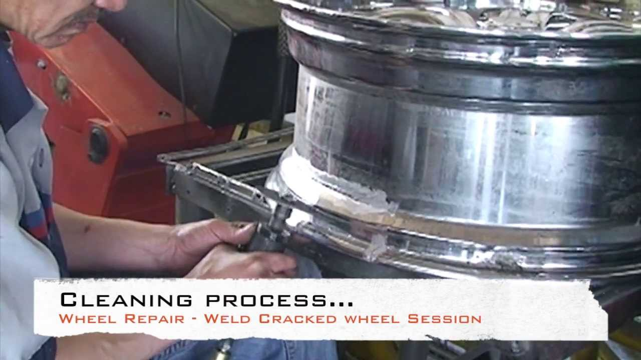 wheel repair cracked rim welding youtube. Black Bedroom Furniture Sets. Home Design Ideas