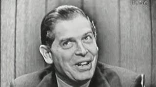 What's My Line? - Frank Gifford; Milton Berle; Stubby Kaye [panel] (Dec 2, 1956)