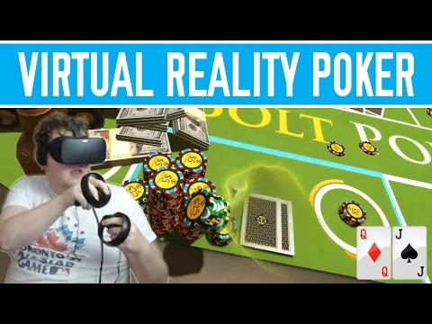 VIRTUAL REALITY POKER with tonkaaaap; 3 handed game [Episode 3]