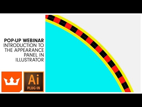 Webinar | Introduction to the Appearance Panel in Illustrator