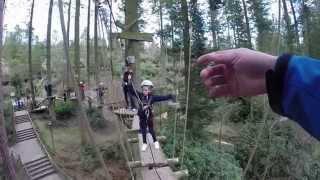 Center Parcs 2015 High Ropes