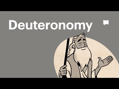 Read Scripture: Deuteronomy
