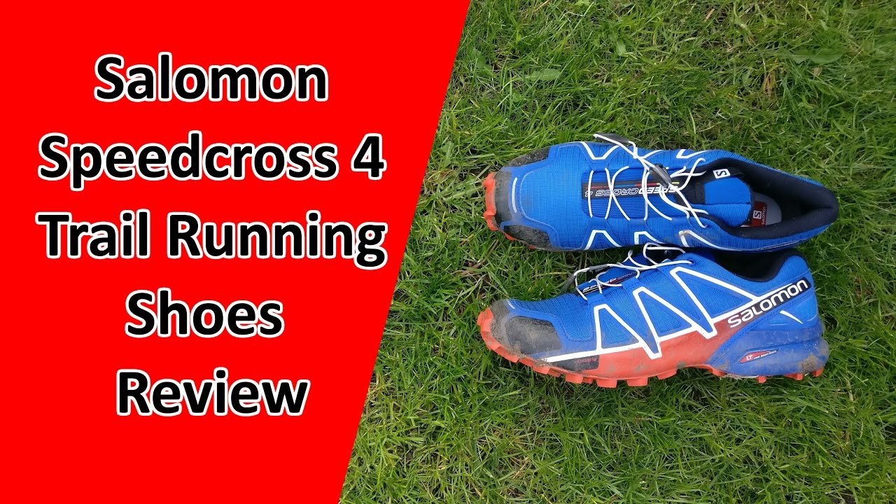 salomon speedcross 4 trail running review