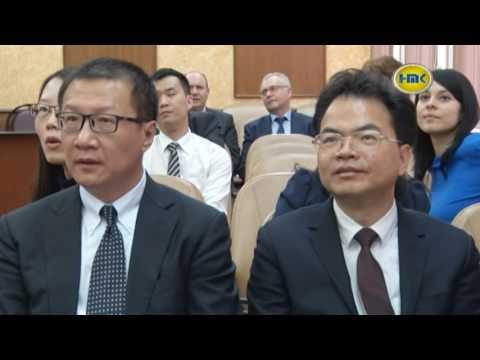 Китайская делегация в Наро-Фоминске