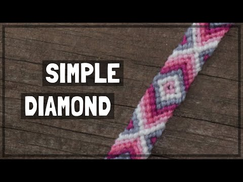 simple-diamond-friendship-bracelet-tutorial