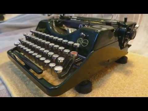 Rheinmetall antique typewriter.