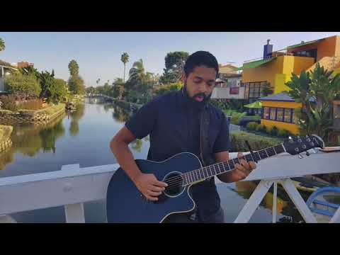 Nelson Cade III Singer songwriter at venice canals can you mirror this video