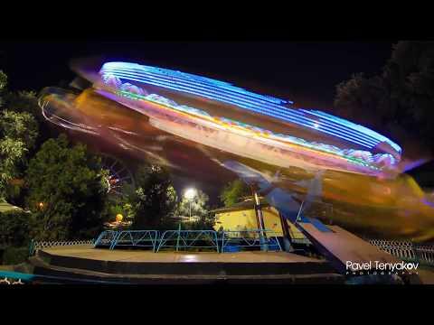 Gorky Park Or Central Park Of Almaty (Timelapse)    Центральный парк отдыха имени Горького в Алматы