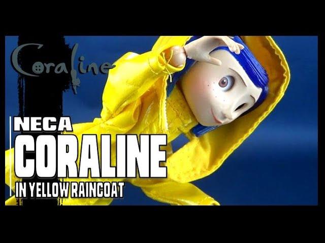 Neca Coraline In Yellow Raincoat Video Review Youtube