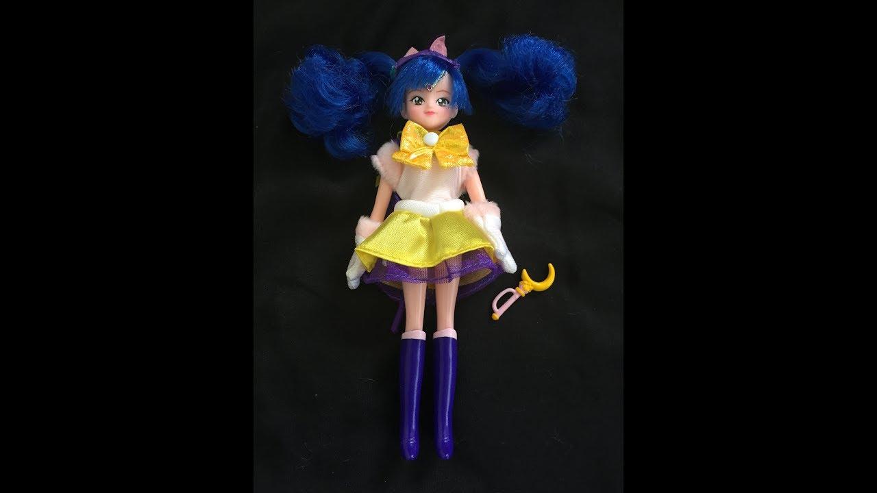 Sailor Moon Luna Hair Clip Manga Dress Up Costume Doll Toy
