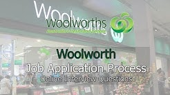 Woolworth Job Application Process - Online Interview Questions 2018