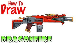 how to draw dragonfire fortnite - how to draw fortnite llama pickaxe