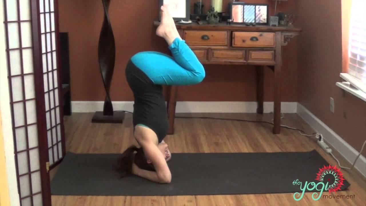 Shirshasana - Headstand in Yoga for Beginners - YouTube