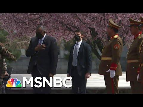 Defense Secretary Austin Visits Afghanistan As Troop Withdrawal Deadline Approaches | MSNBC