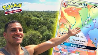 SEARCHING FOR THE RAINBOW CHARIZARD! (Rarest Pokemon Cards Ever?!)