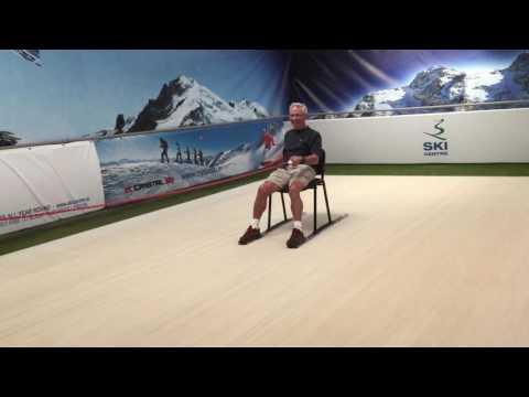 Frank Inventing new ways to ski - New Chair Ski