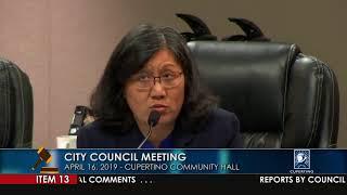 Cupertino City Council Meeting - April 16, 2019