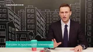 Навальный про Рогозина и его племянника