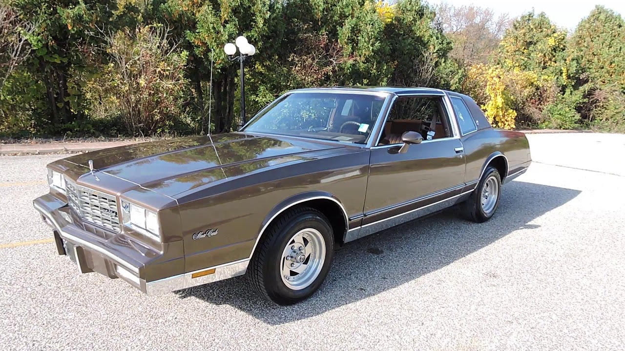 1984 chevy monte carlo for sale at www coyoteclassics com youtube 1984 chevy monte carlo for sale at www coyoteclassics com