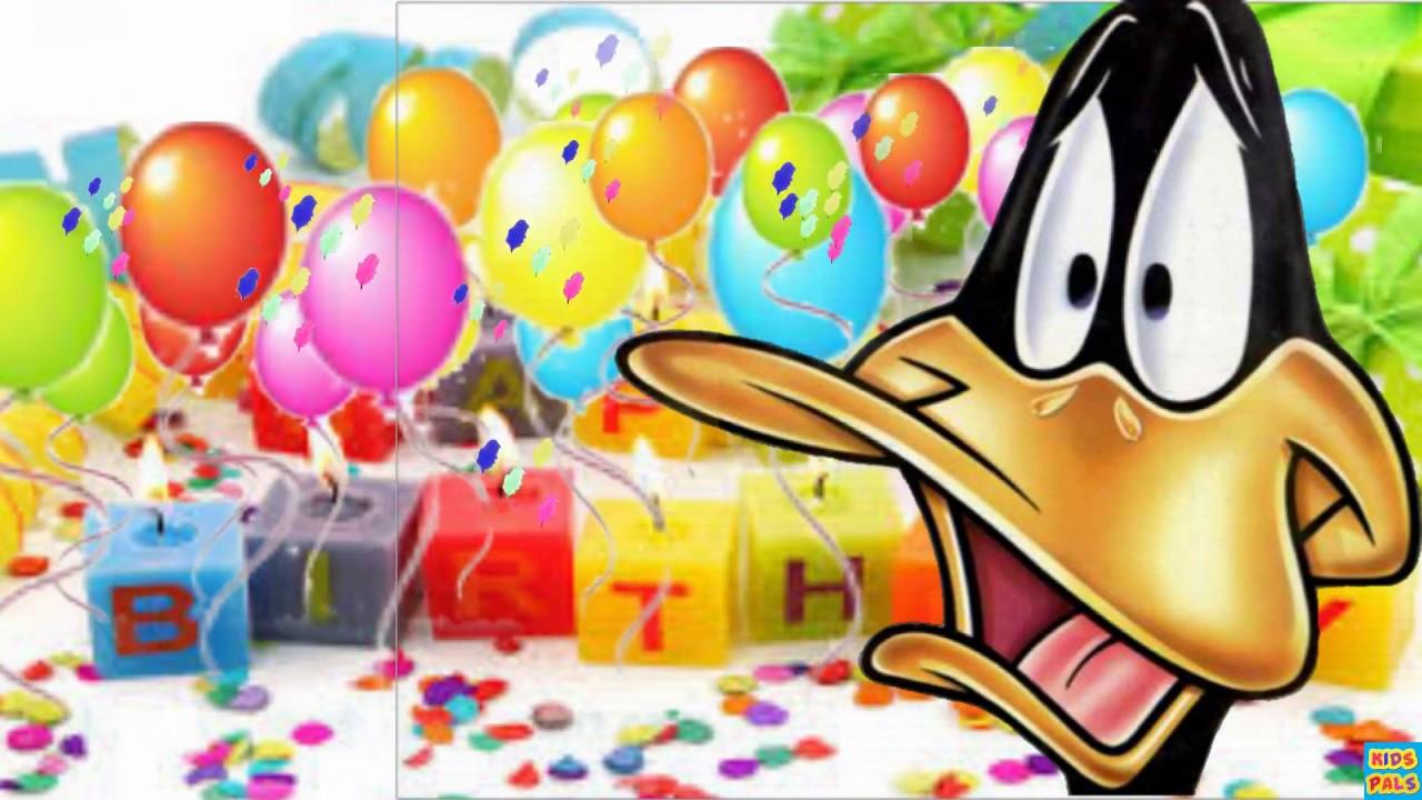 Daffy Duck Happy Birthday Song