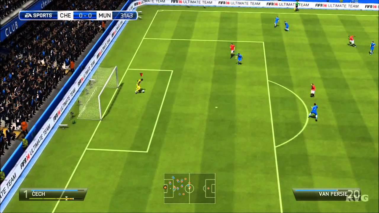 Chelsea Vs Manchester United Vs Fc Barcelona: Chelsea FC Vs. Manchester United FC Gameplay [HD