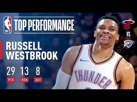 Download Youtube: Russell Westbrook With A THUNDEROUS Performance!