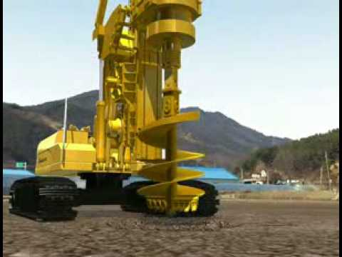 Rotary Drilling Rig(DBM Series) 3D Simulation