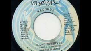 Horace Martin - Sound Boy Style (Youthman Riddim)