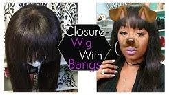 DYI: How to Make a Fringe Bang Wig Using a Closure